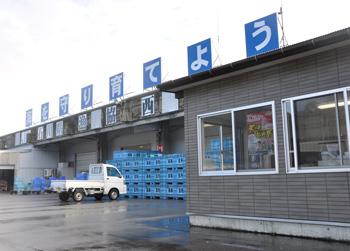 活き甘エビは石川県漁協西海支所から