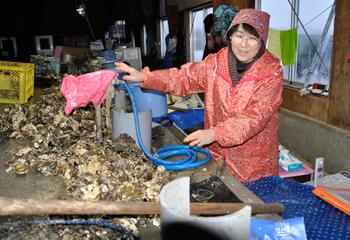 牡蠣の生産者