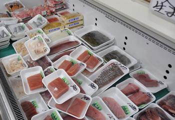 志賀町生産物直売所(西山PA)では単品でも買えるお刺身